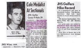 Golf articles.
