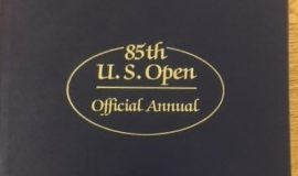Annual book  from the 1985 U.S. Open played at Oakland Hills (MI) - Bud was the tournament director.