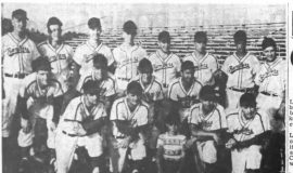 Muny AA Playoff Champs. September 6, 1955.