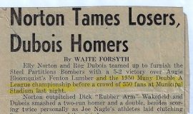 Norton Tames Losers