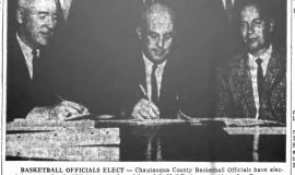 Basketball Officials Elect. October 15, 1963.