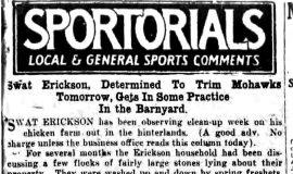 Sportorials. July 26, 1930.