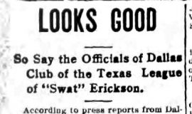 Looks Good. March 4, 1914.