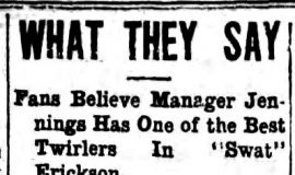 What They Say. June 10, 1918.