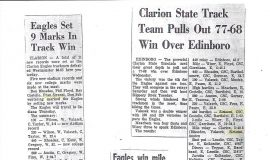 Clarion track articles.