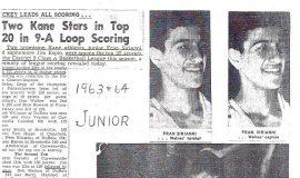 Kane basketball, 1963-64.