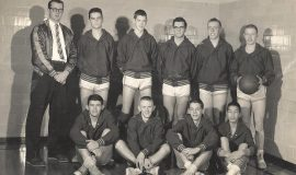 1956-57 Mayville basketball