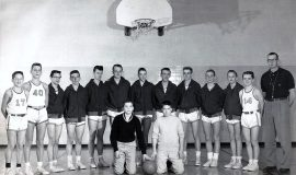 1960-61 Mayville JV basketball