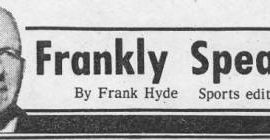 Frankly Speaking masthead