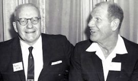 Frank Hyde with Bill Veeck.