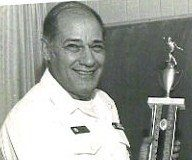 Frank Pischera with  trophy