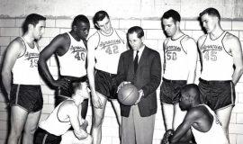 Gary Clark, #45 Syracuse, 1956-57.
