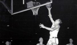 Gary Clark playing for Fort Lee, 1958-60.