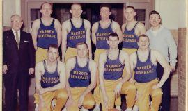 Warren Beverage basketball team, 1964.