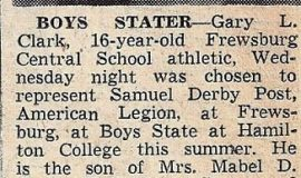 Boys Stater. 1952