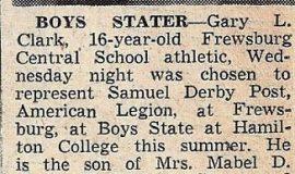 Boys Stater. 1952