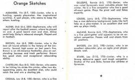 Orange Sketches. 1955-56.