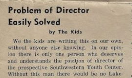 Problem of Director Easily Solved. 1967.