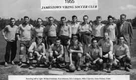 Jamestown Vikings soccer club. 1955.