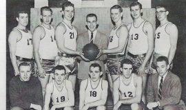 JCC basketball, 1957.