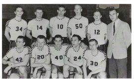 JCC basketball, 1961.
