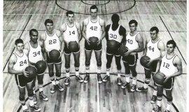 JCC basketball, 1967.