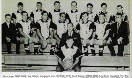 JCC basketball, 1966.