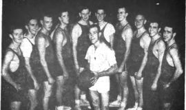 Improved Bench Strength May Send Stronger CC 5 into Season's Play. November 15, 1957.