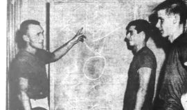Bataitis Starts Eighth Season As JCC Coach With 3 Veterans.  November 28, 1963.