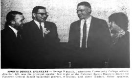 Bataitis Falconer Dinner Speaker.  March 30, 1966.