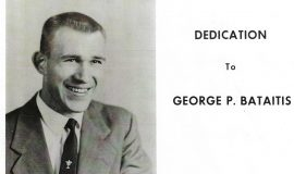 Dedication to George P. Bataitis. 1961.