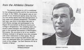 From the Athletics Director. 1973.