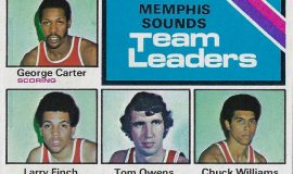George Carter, 1975-6 Topps trading card.