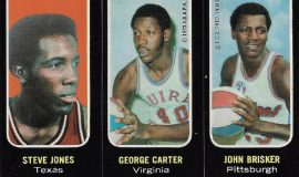 George Carter, 1975 Topps trading card.