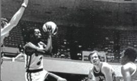 George Carter played for the Memphis Sounds, 1974.