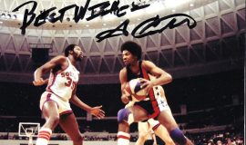 George Carter played for the Virginia Squires in 1971 and in 1973-74.