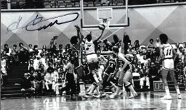 George Carter played for the Memphis Sounds, 1974-75..
