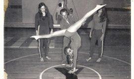 Sue Chase, Geza, Tina Christianson, Lisa Wallen 1973