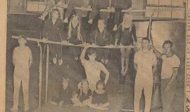 Jamestown Boys Club Gym Team In Junior Olympics.  August 7, 1970.