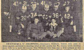 1952 6-man Chautauqua County Class C champions.