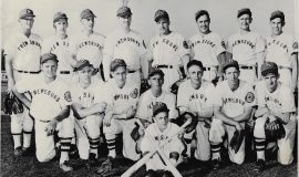 1949 Turcotte Mill Supply baseball team