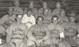 1946 Falconer Milling baseball team.