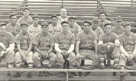 1947 Falconer Milling baseball team.