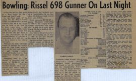 owling: Rissel 698 Gunner On Last Night. 1972