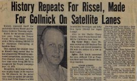 History Repeats For Rissel, Made For Gollnick On Satellite Lanes. 1974