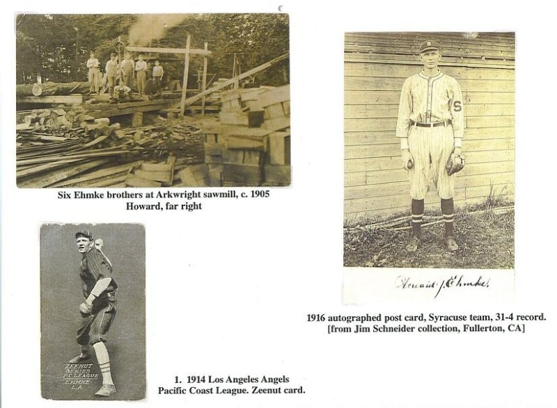 Howard Ehmke - Chautauqua Sports Hall of Fame
