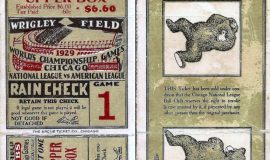 1929 World Series ticket