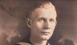 Howard Ehmke was in the US Navy in WWI (circa 1918).