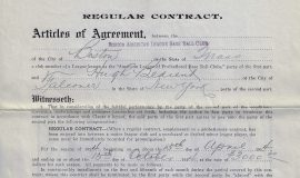 1914 Boston contract (front)