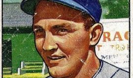Irv Noren trading card, 1951.